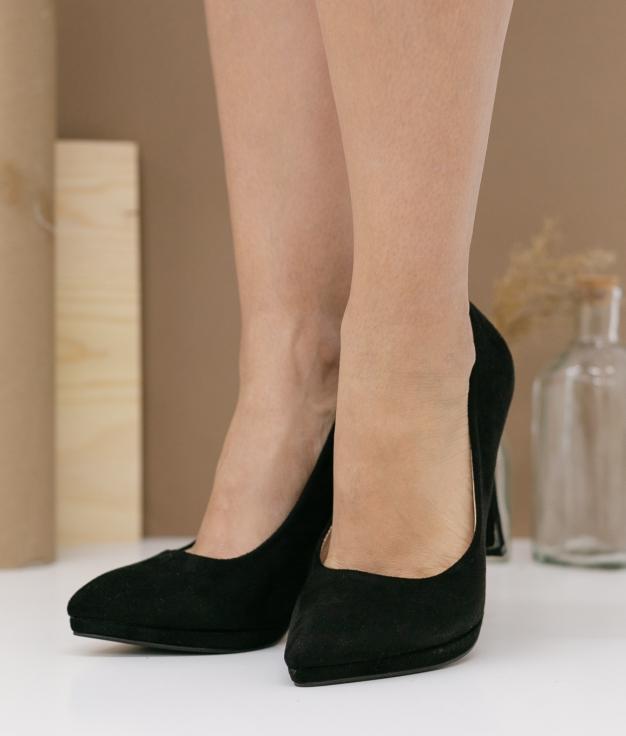 Zapato de Tacón Bruneza - Negro