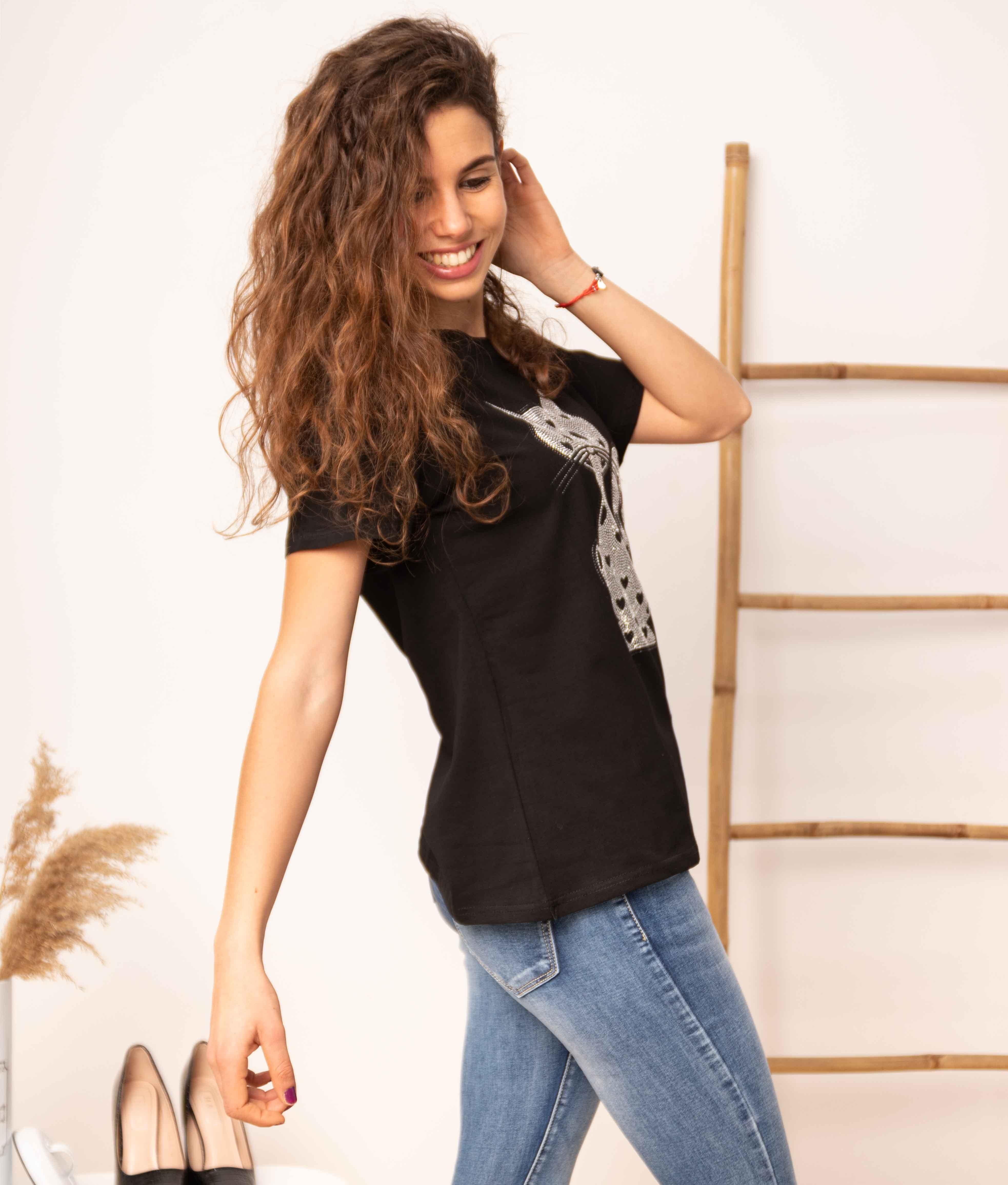 Camiseta Negundo - Preto