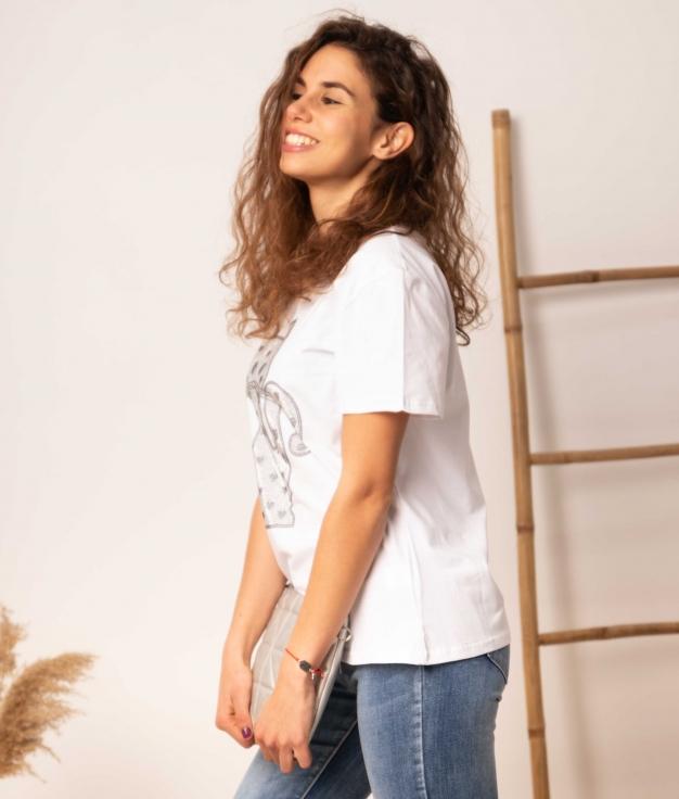 Camiseta Negundo - Blanco