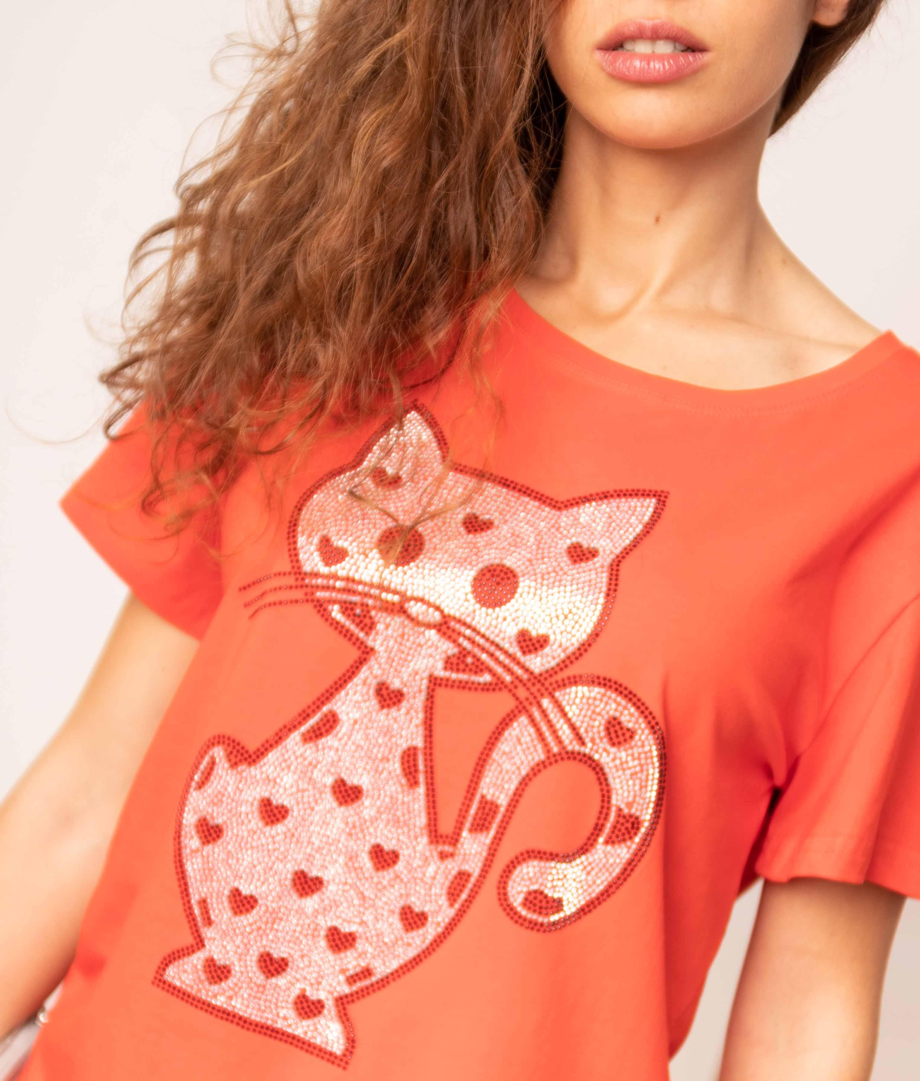 Camiseta Negundo - Naranja