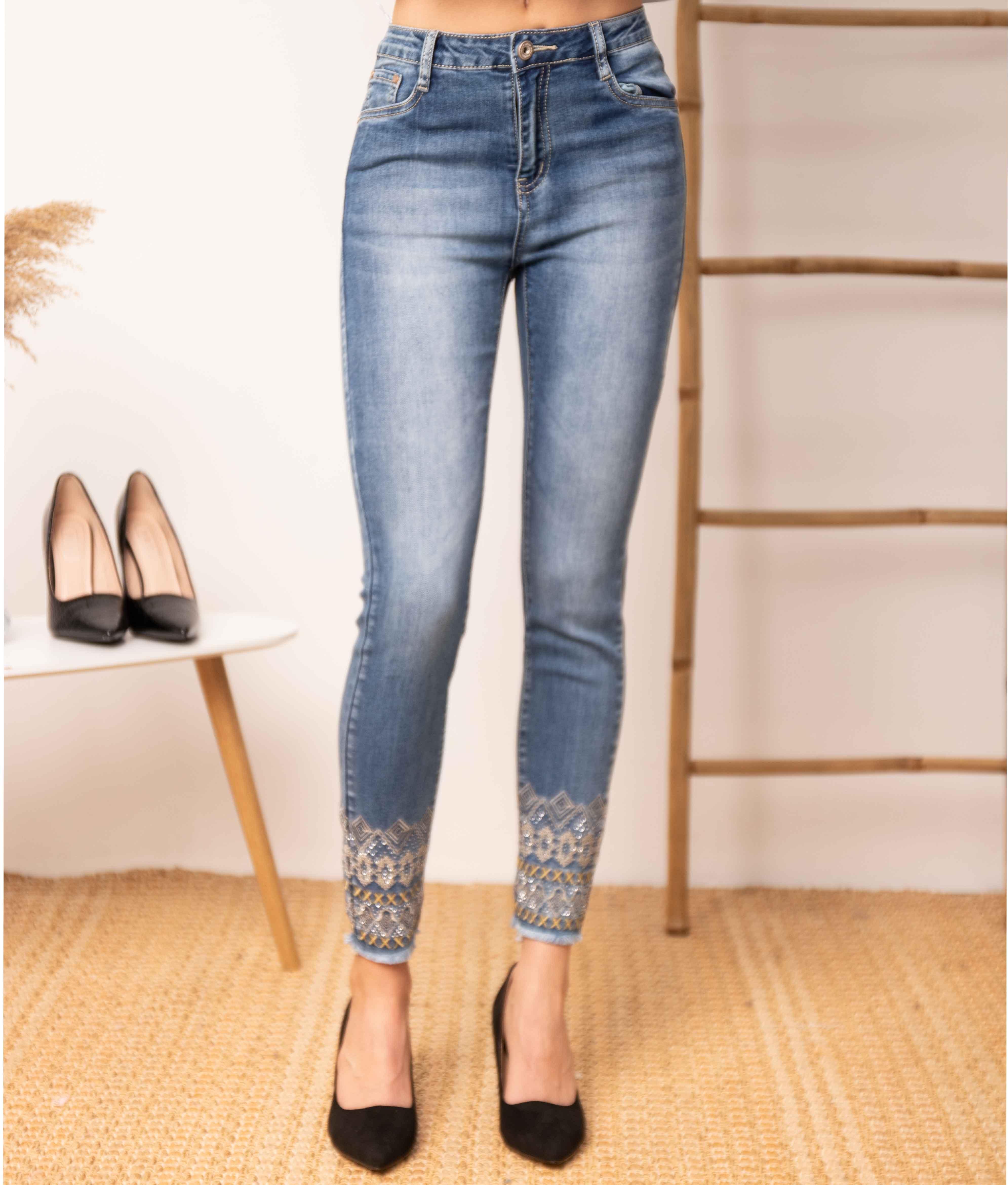 Trousers Moreya - Denim