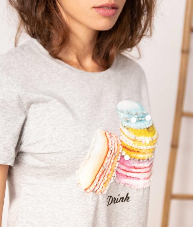 Camiseta Bertu - Gris