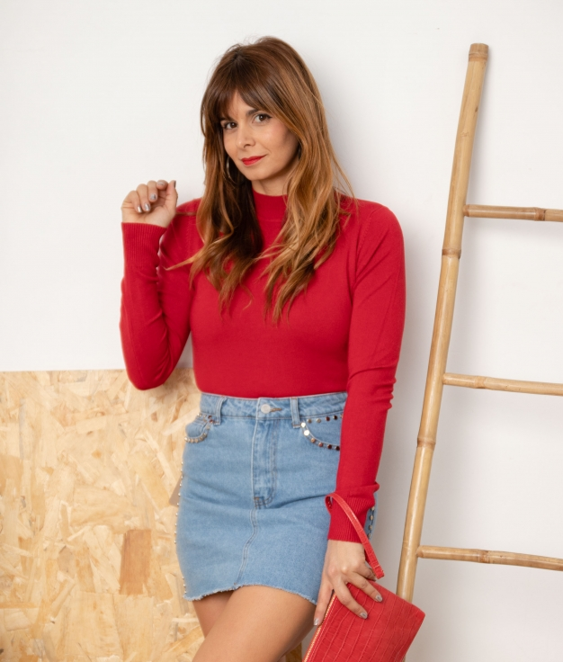 Sweater Bret - Red
