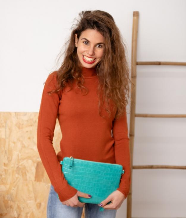 Sweater Bret - Brick