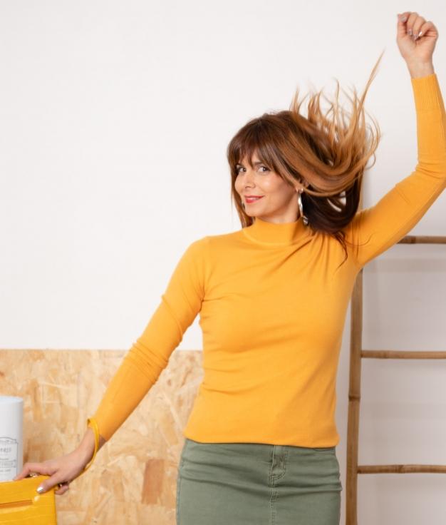 Sweater Bret - Mustard