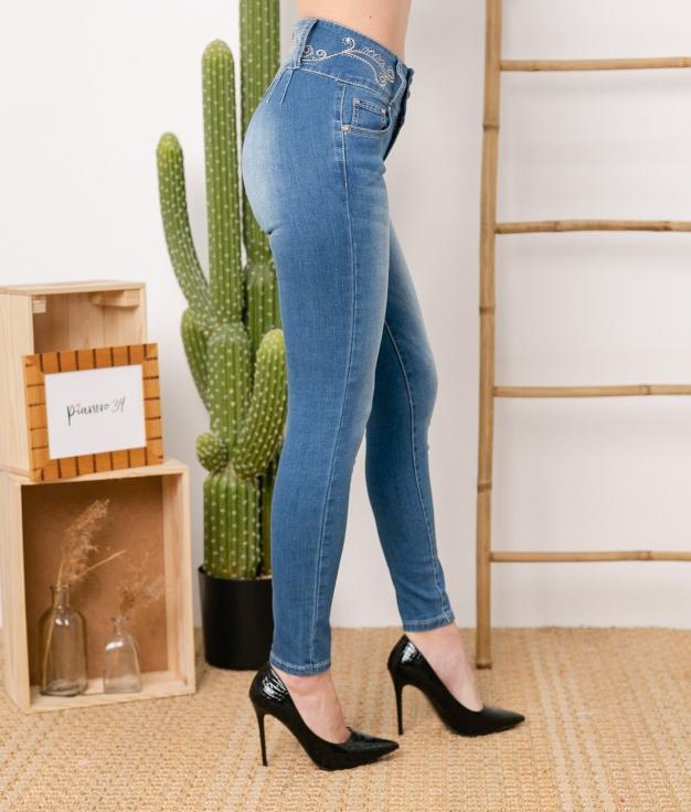 Pantaloni Coscoja - Denim