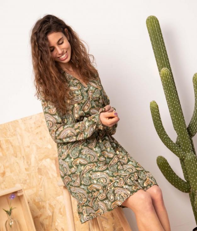 Dress Ramnus - Green