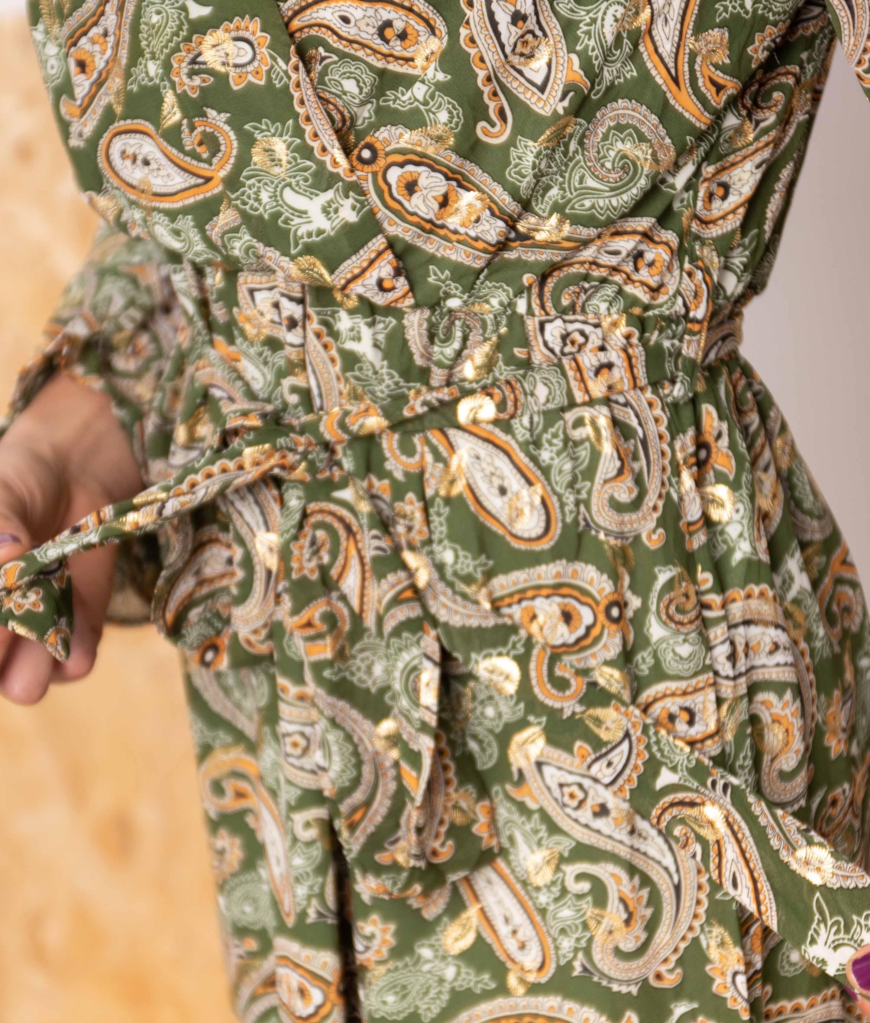 Vestido Ramnus - Verde