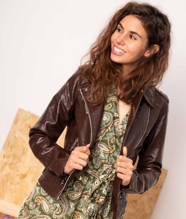 Jacket Taray - Brown