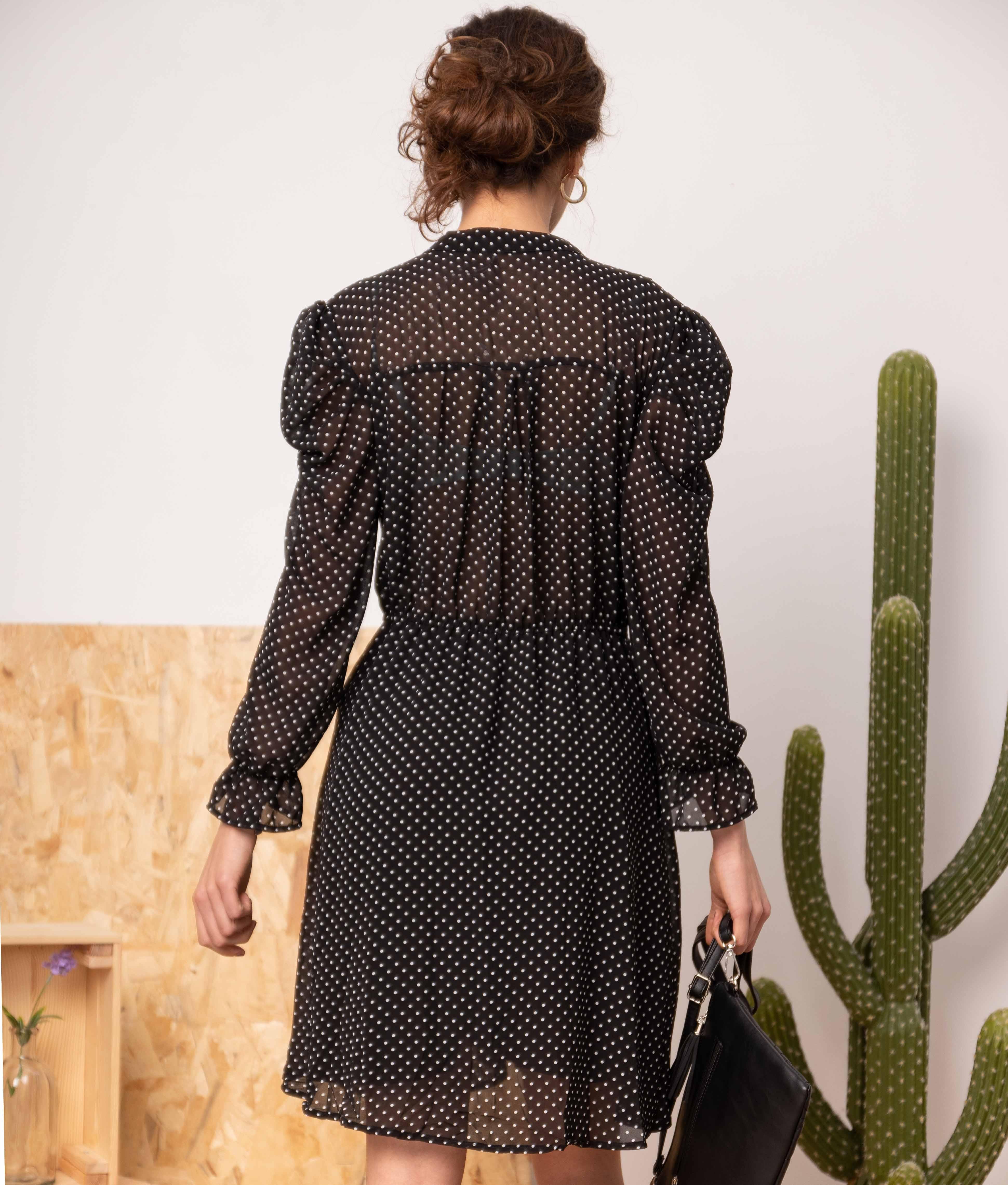 Vestido Cerval - Preto