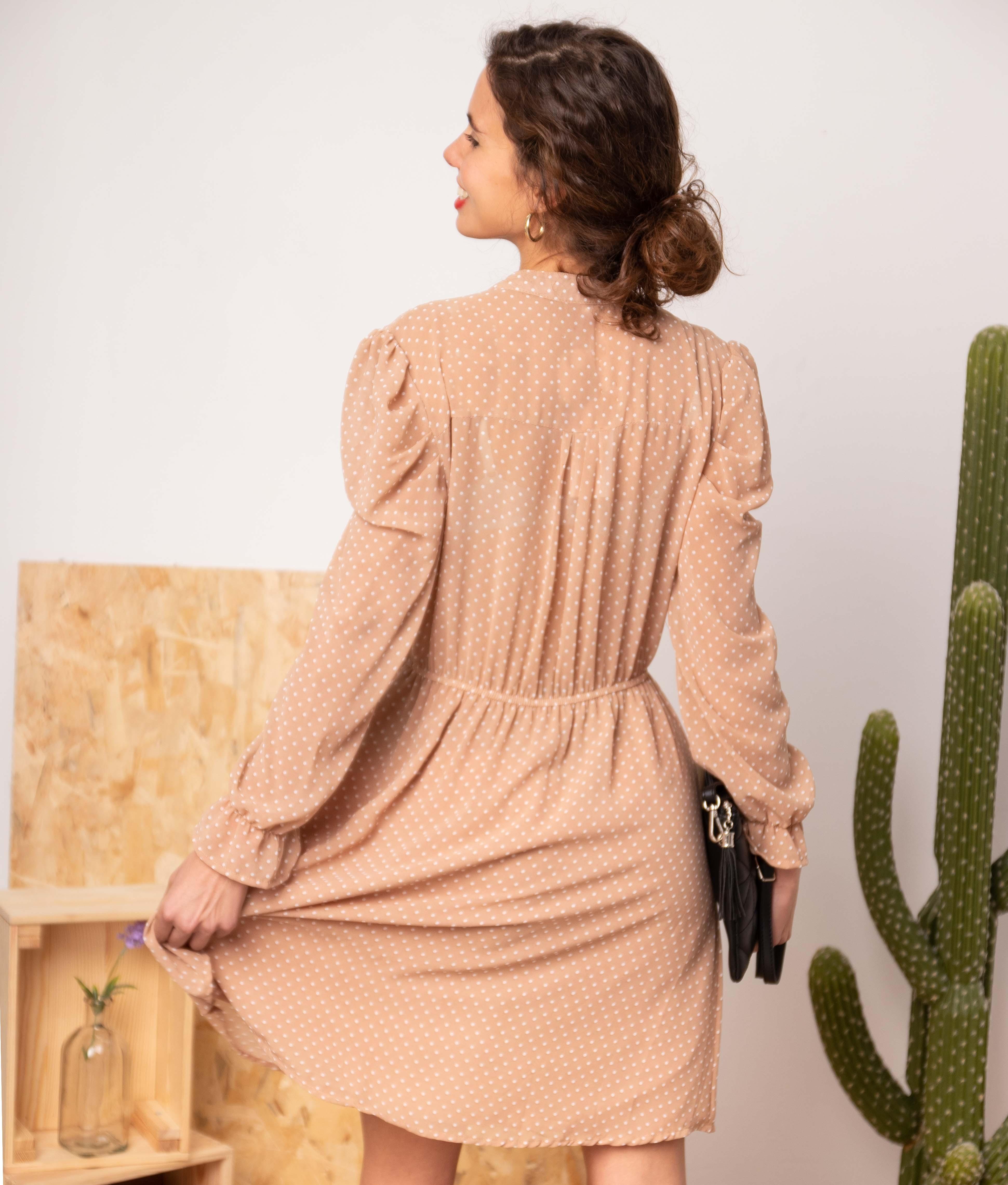 Vestido Cerval - Nude