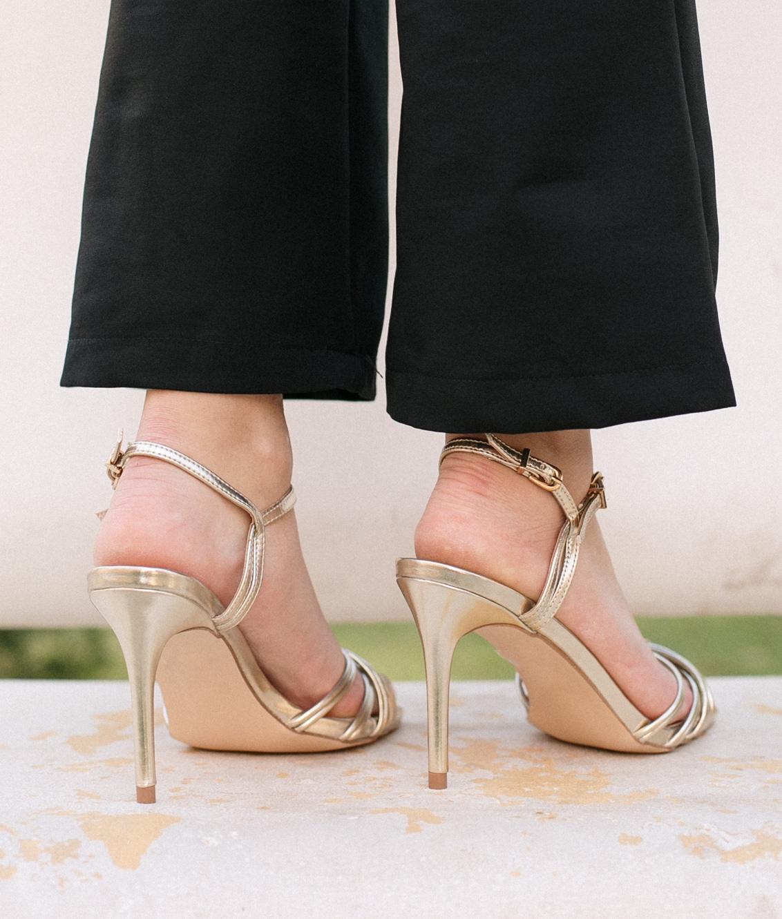High Sandal Eglans - Oro