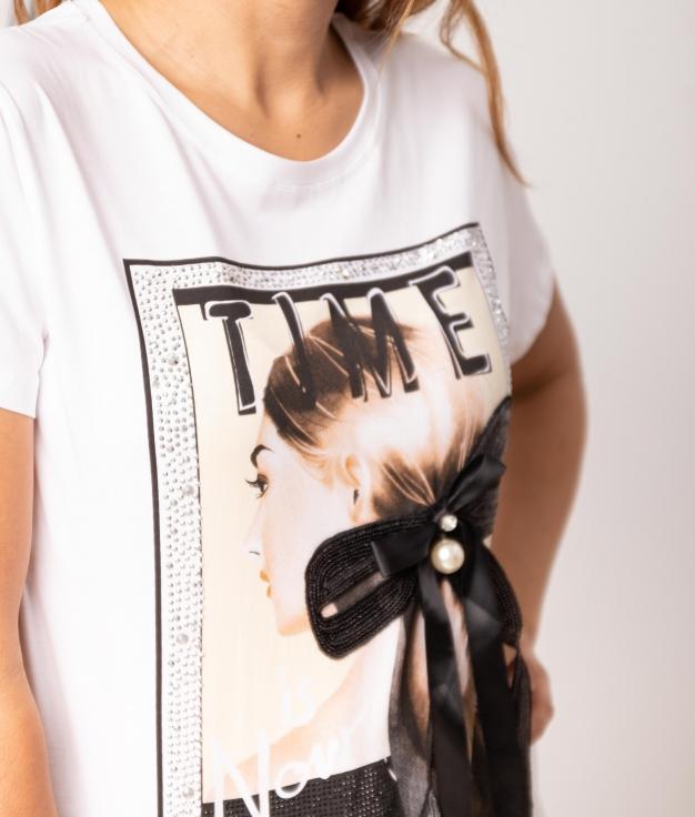 Camiseta Silvati - Blanco