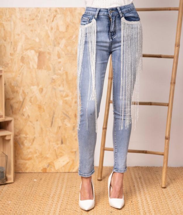 Pantaloni Fulia - Denim
