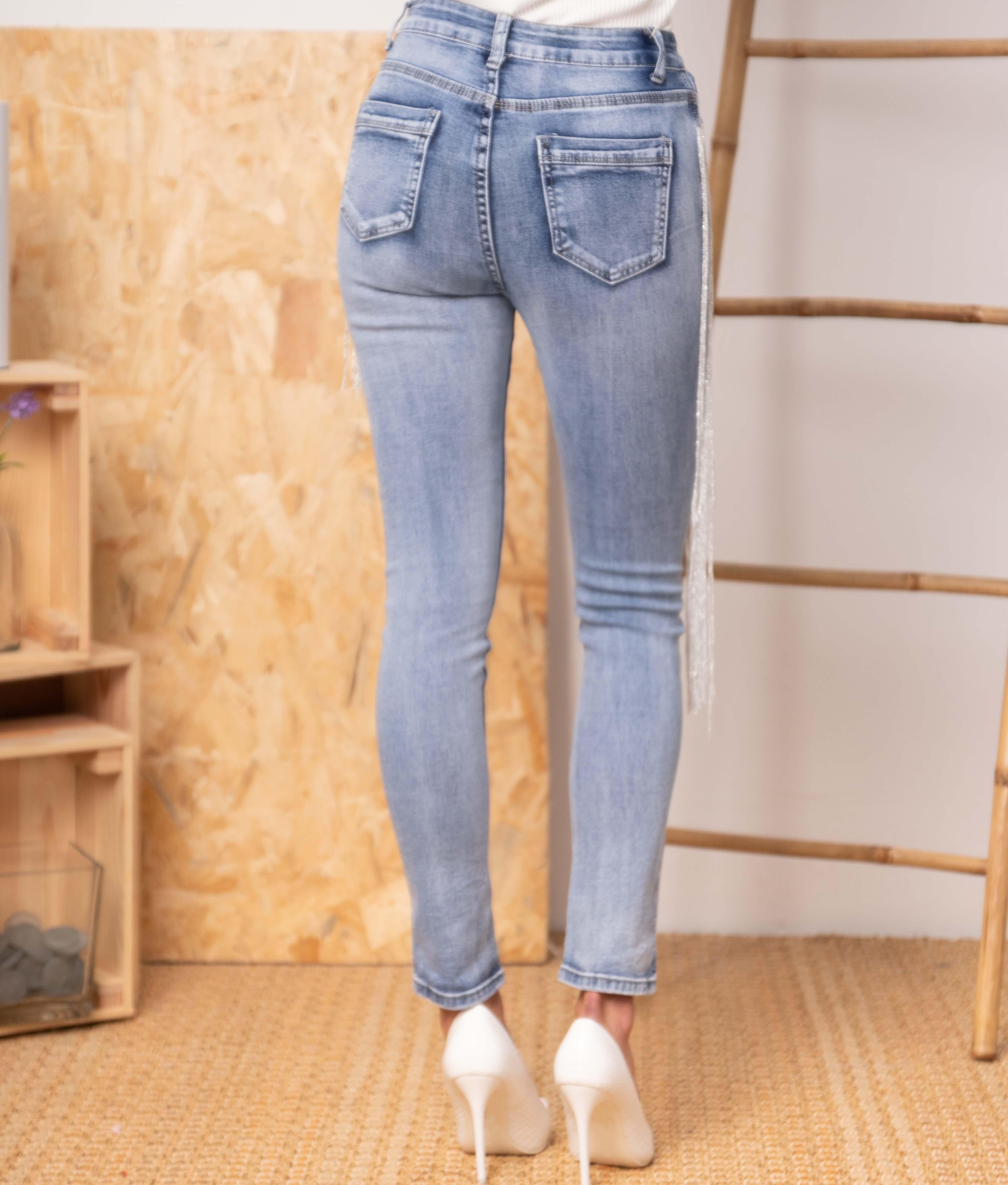Pantalon Fulia - Denim
