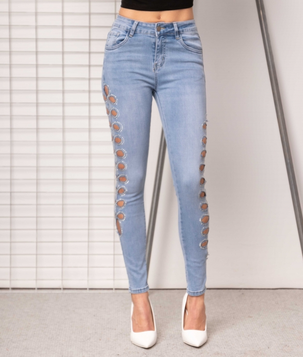 Trousers Escila - Denim