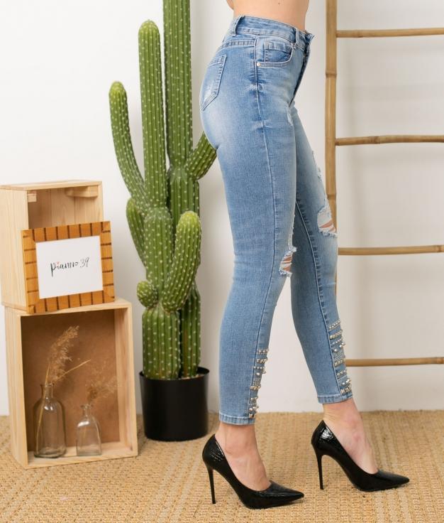 Pantaloni Lichi - Denim