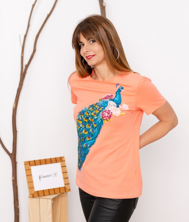 T-shirt Penlo - Orange