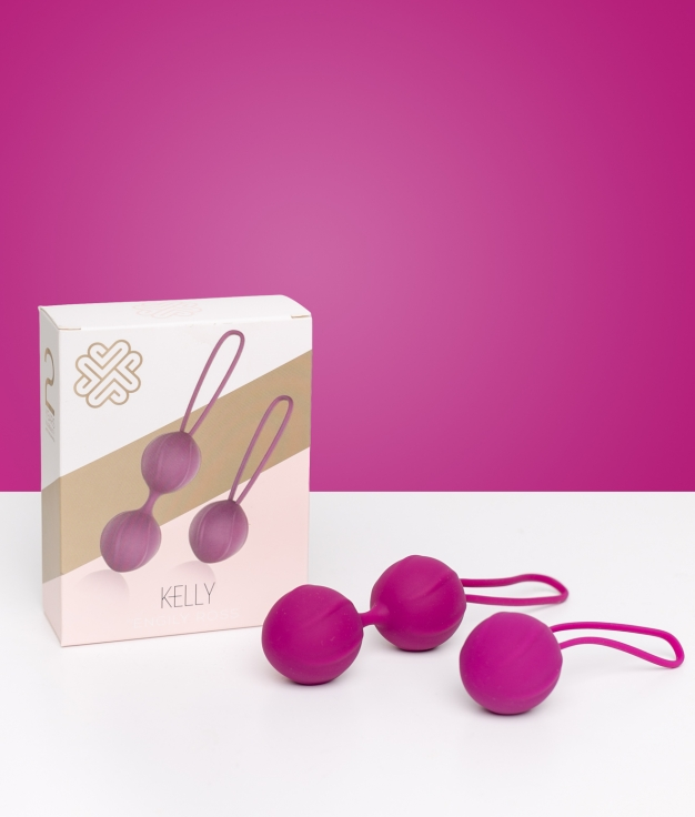 Kit 4 Bolas Kelly - Purple