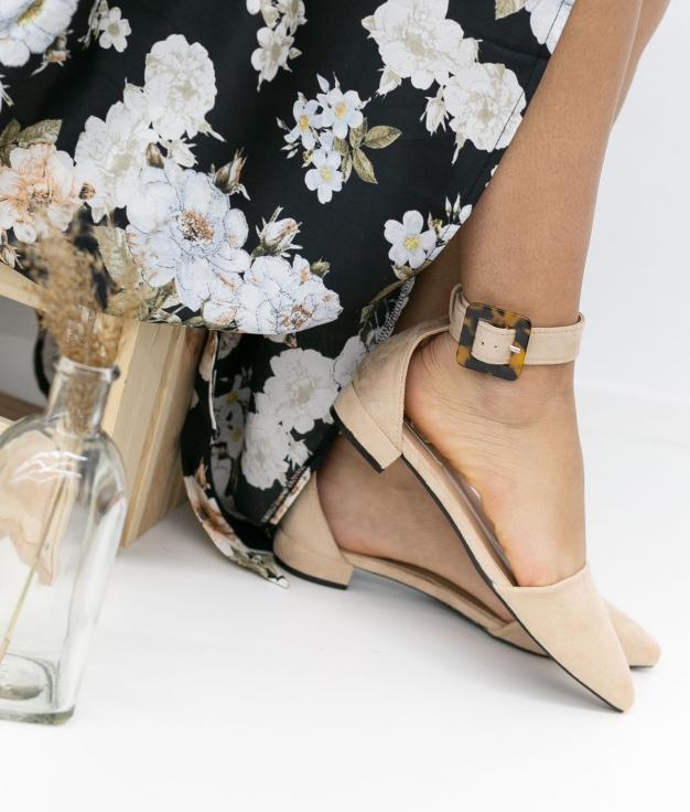 Zapato Lodena - Bege