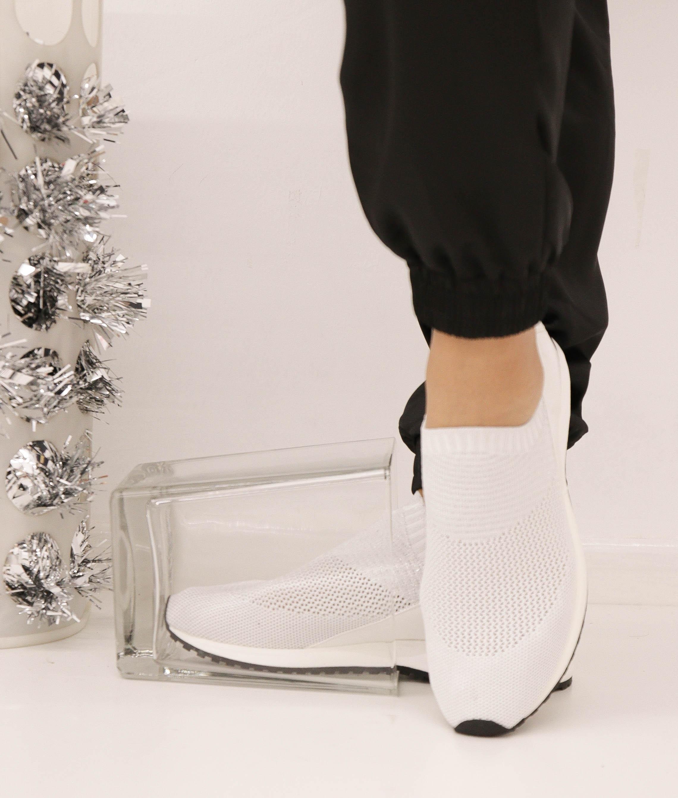 Sneakers Benbi - Argento/Bianco