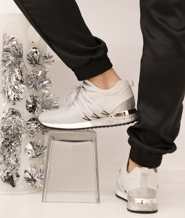 Sneakers Fejer - Plata