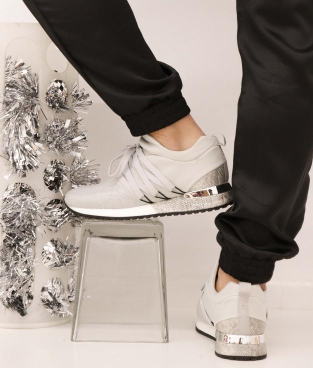 Sneakers Fejer - Silver