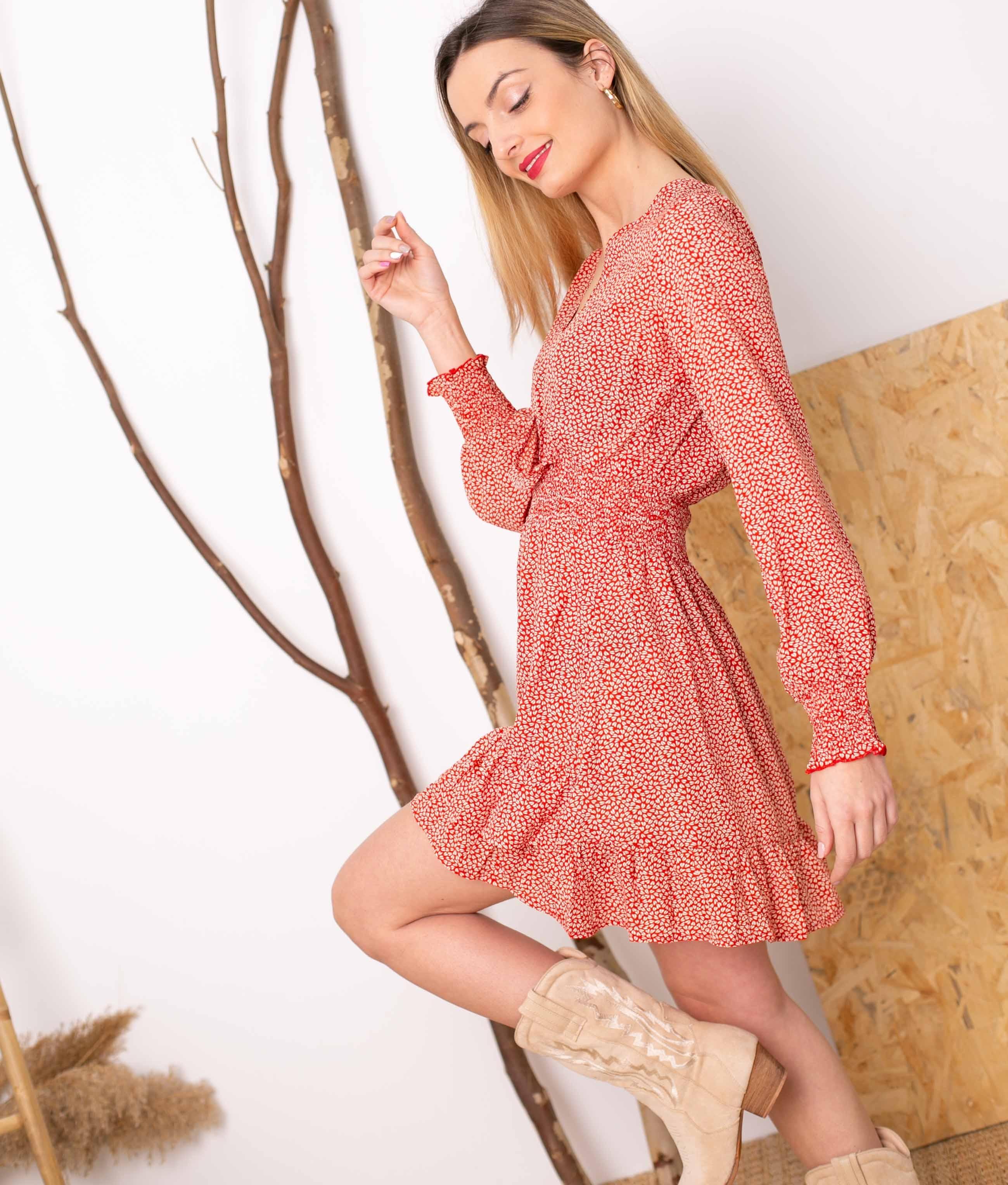 Vestido Silma - Red