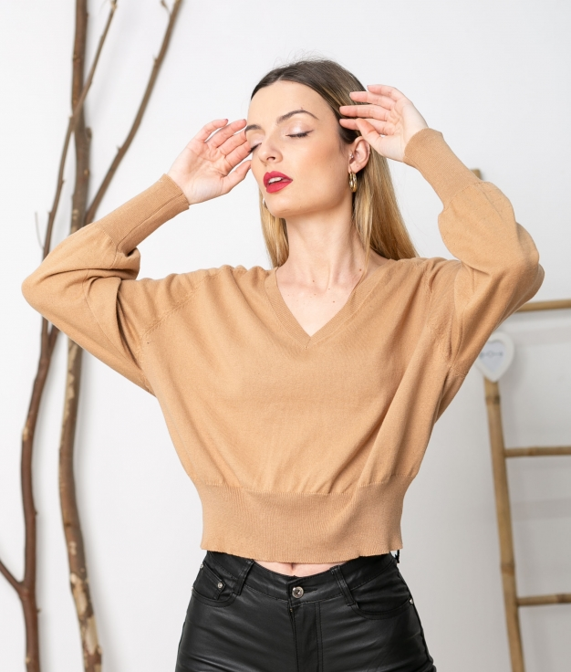 Sweater Dader - Camel