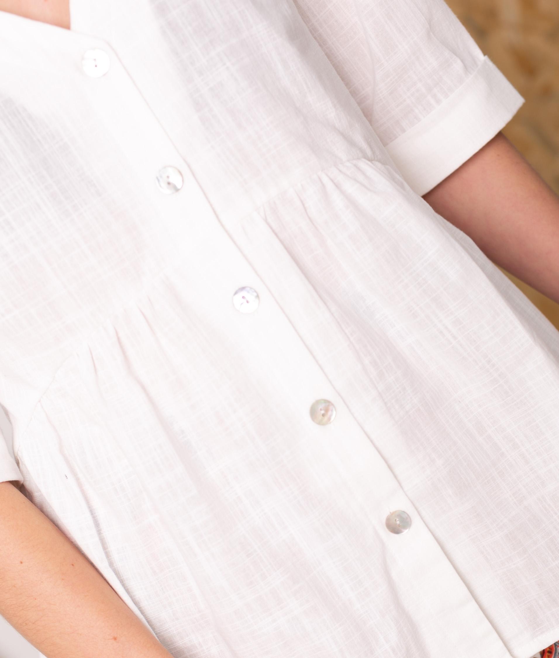 Blusa Marien - Blanco