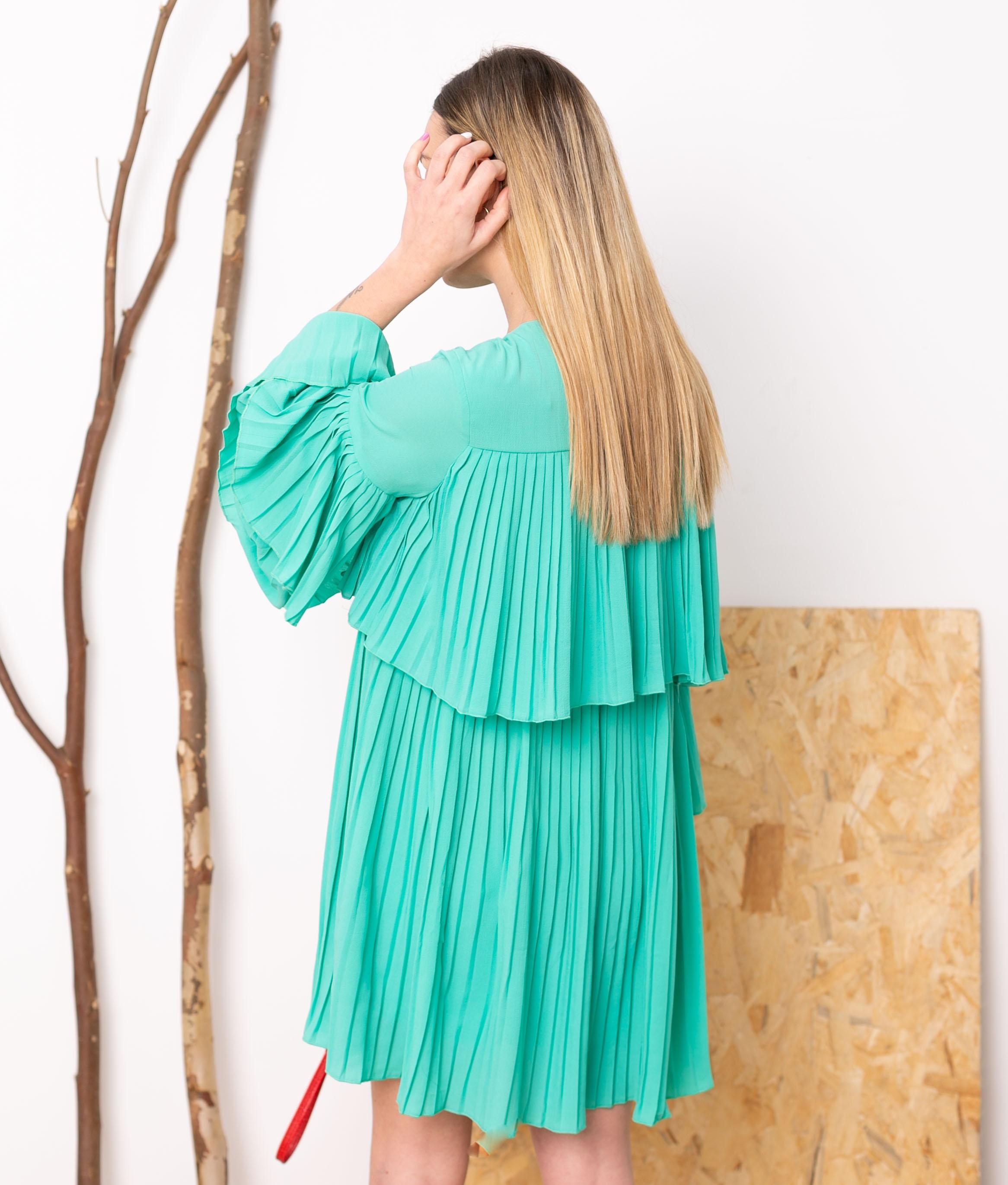 Vestido Noara - Turquoise