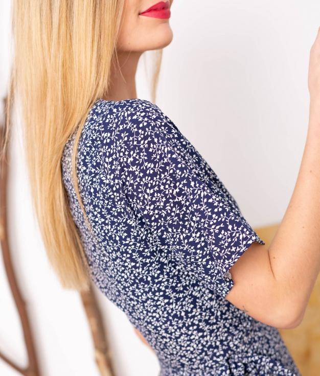 Vestido Polter - Blu