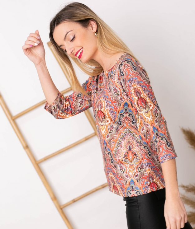 Camiseta Layi - Laranja