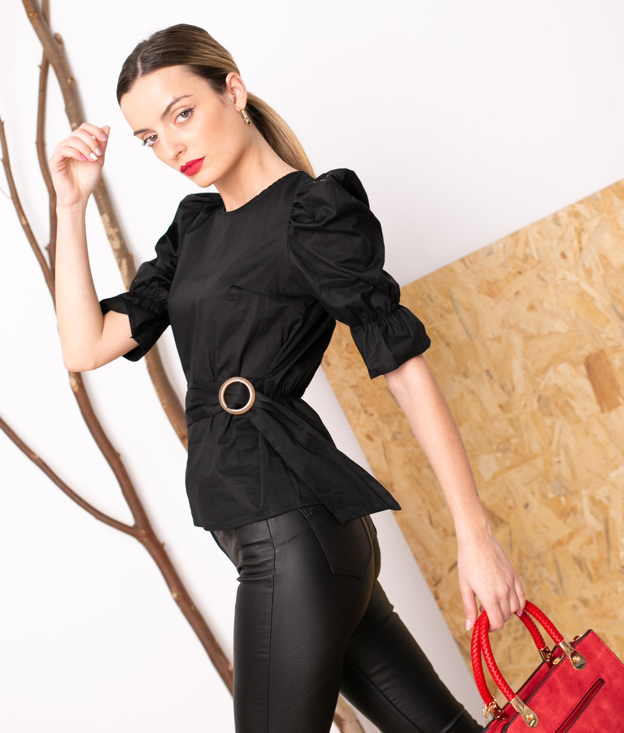 Blouse Laren - Black