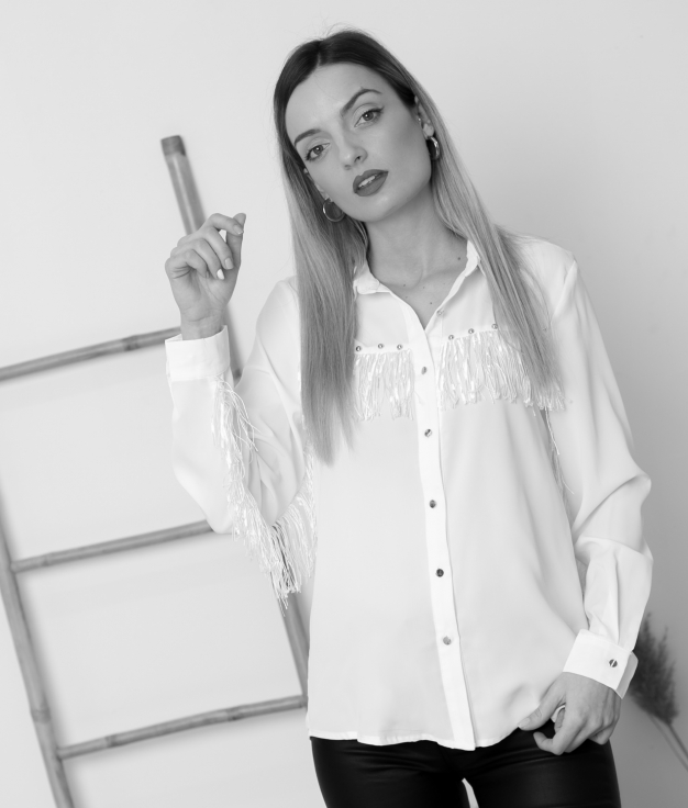 Blouse Tinore - Blanco