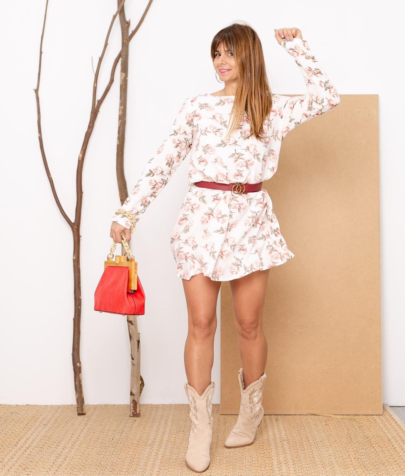Vestido Merindo - White