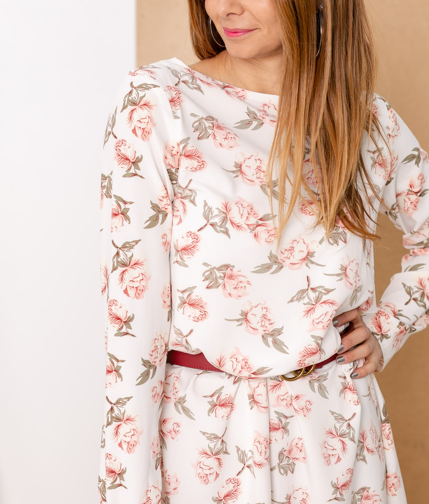 Vestido Merindo - blanc