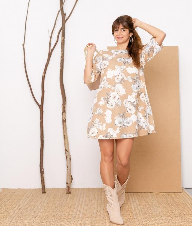 Vestido Sema - Beige