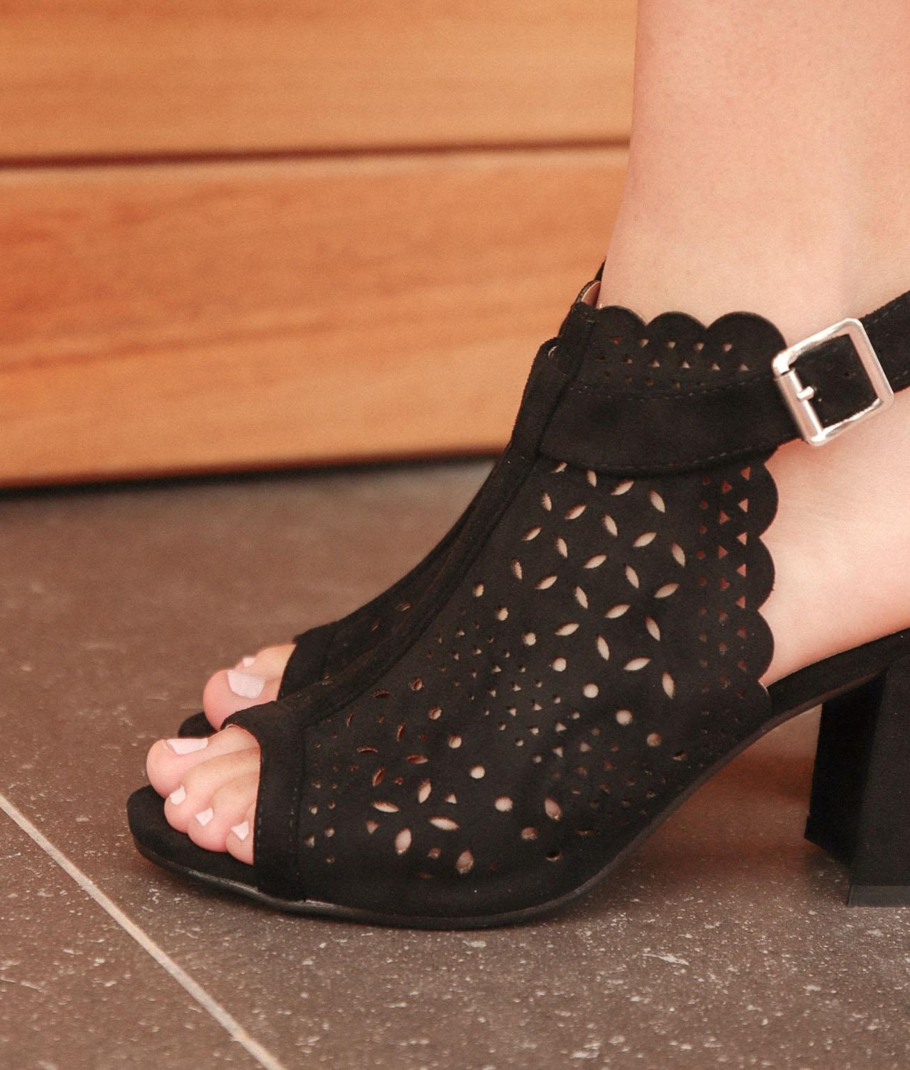 Zapato de Tacón Folane - Negro