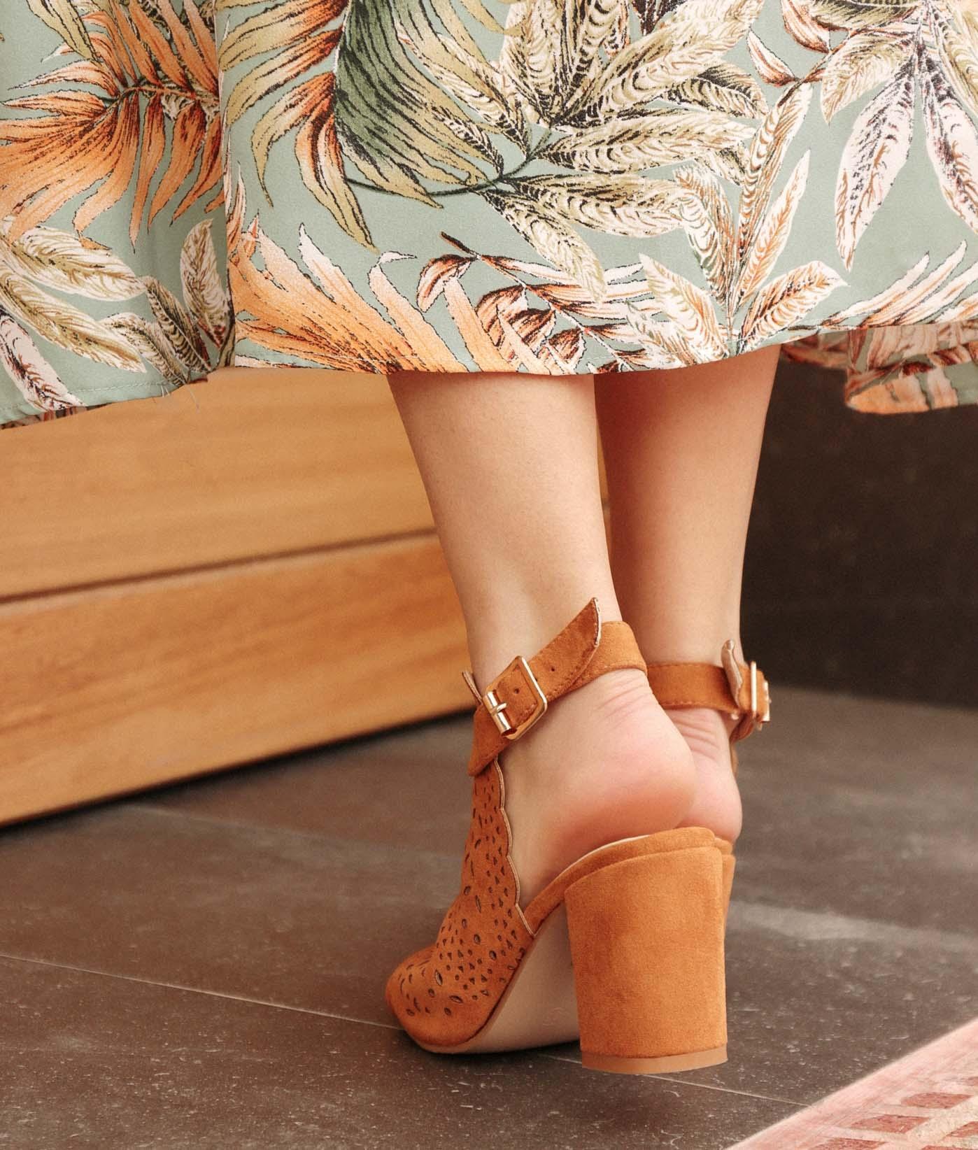 Shoe Folane - Camel