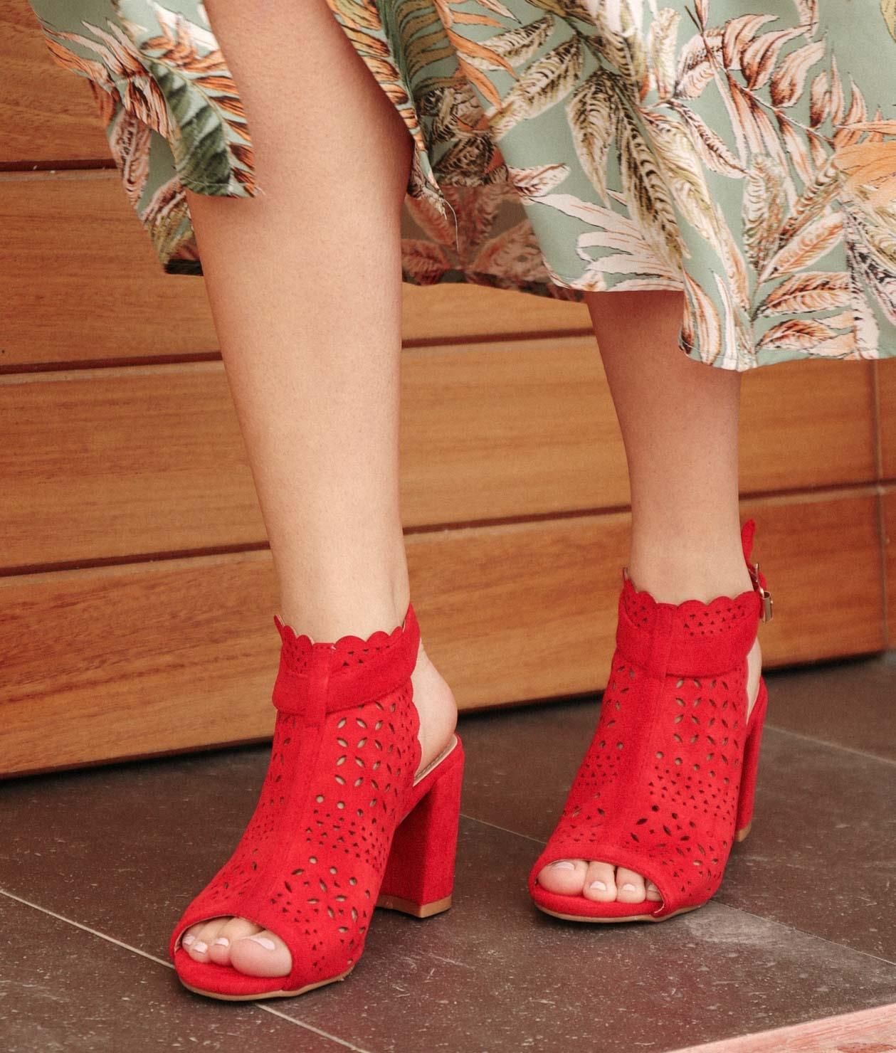 Shoe Folane - Red