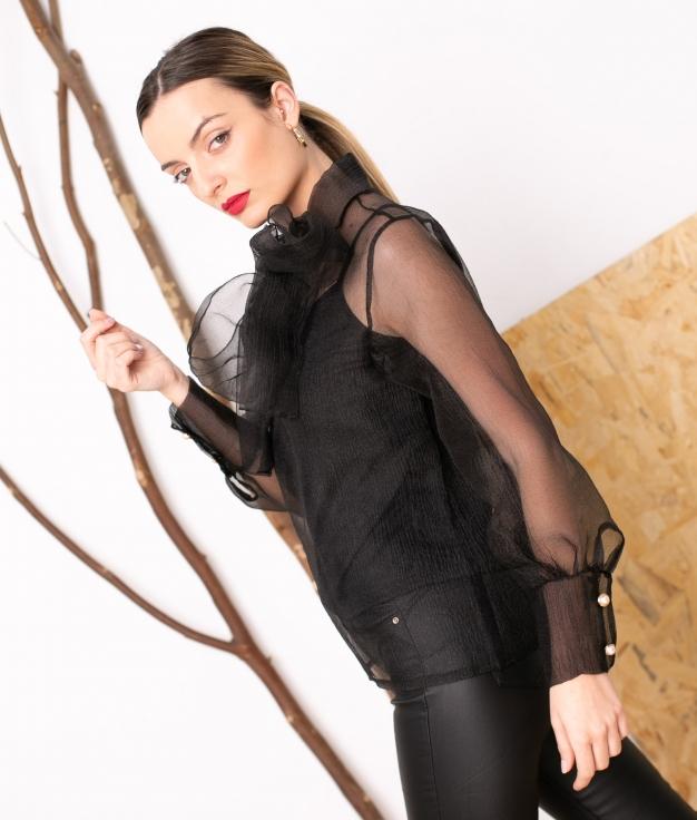 Blouse Mirlion - Noir