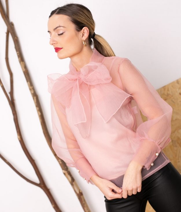 Blouse Mirlion - Rose