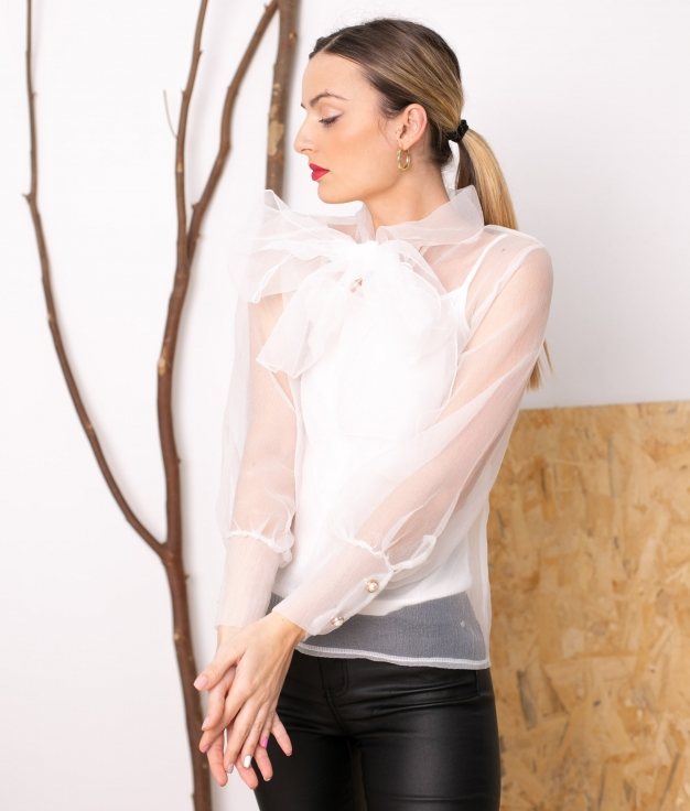 Blouse Mirlion - Blanc