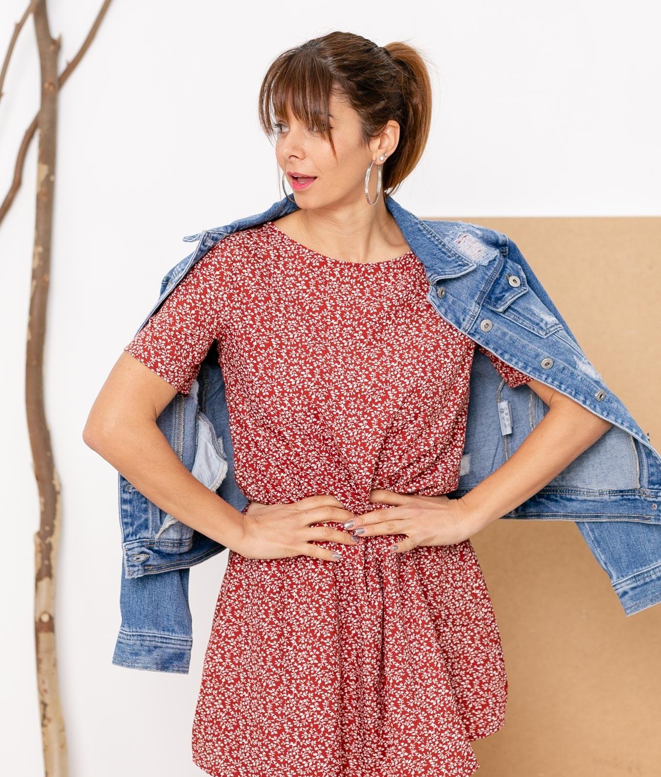 Vestido Noaret - Rojo