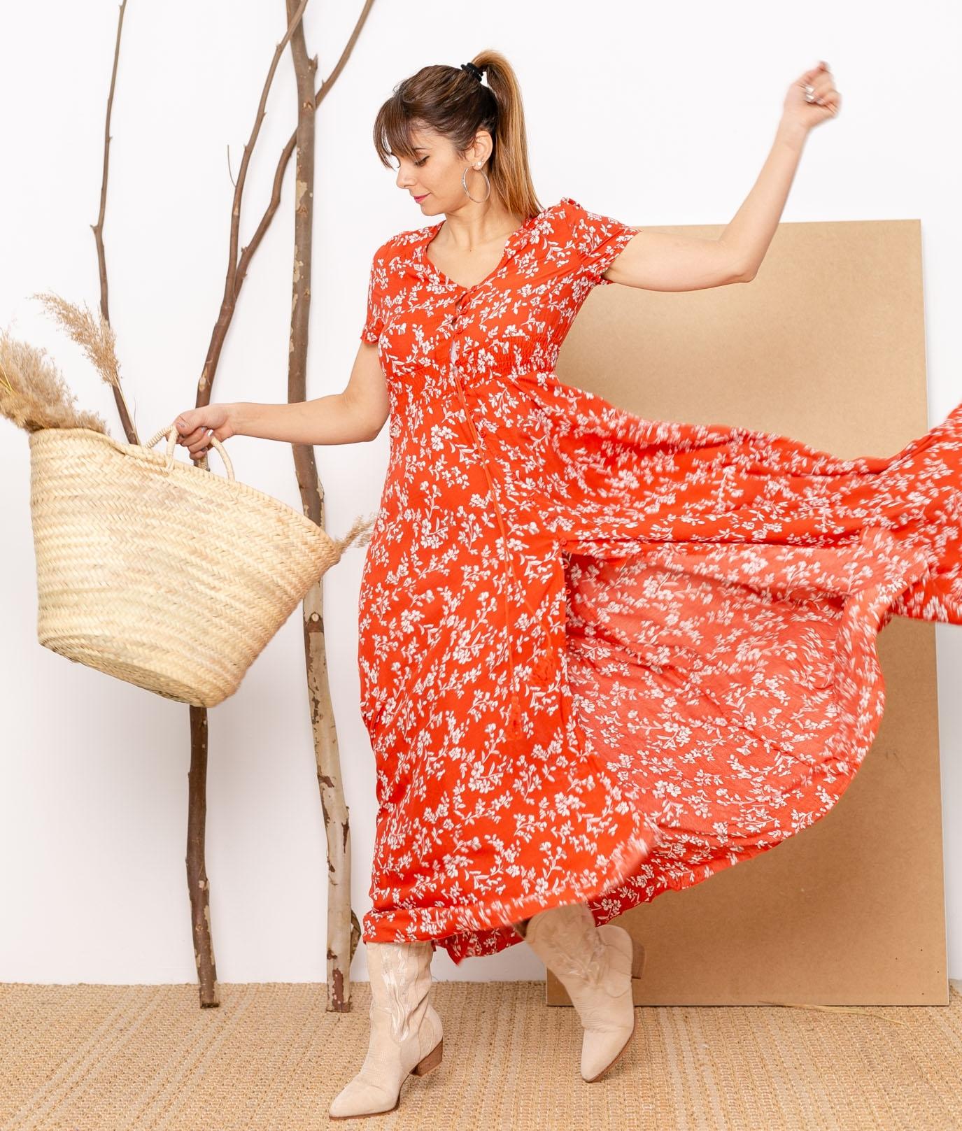 Vestido Mikini - Teja