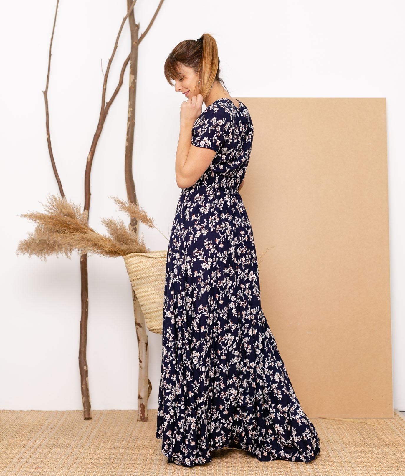 Vestido Mikini - Blu