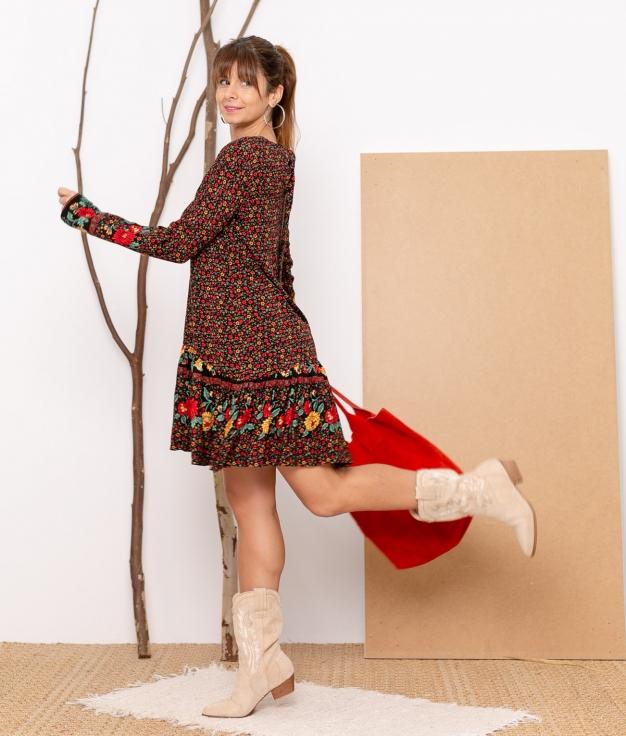 Vestido Crilo - Preto