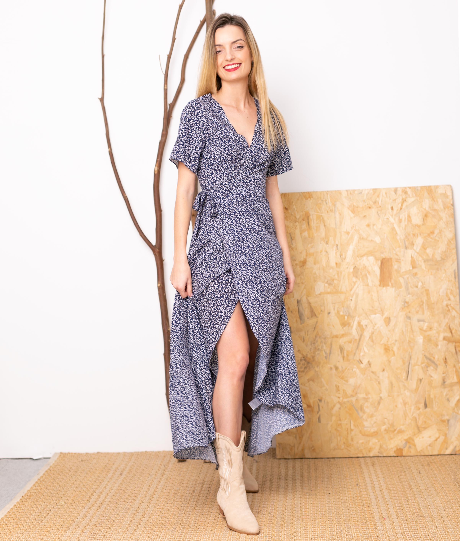 Vestido Polter - Azul