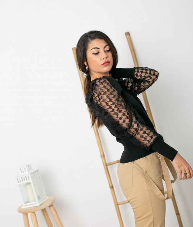 Sweater Dictina - Black
